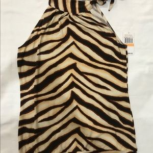 Michael Kors Animal Print Top